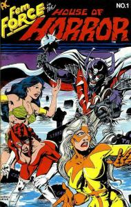 Femforce in the House of Horror #1 FN; AC | save on shipping - details inside