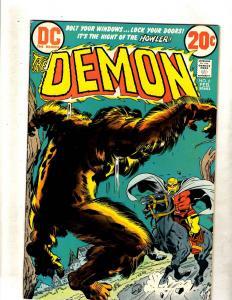 The Demon # 6 VF DC Bronze Age Comic Book Jack Kirby Fourth World FM2