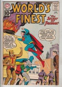 World's Finest #119 (Aug-61) FN/VF Mid-High-Grade Superman, Batman, Robin