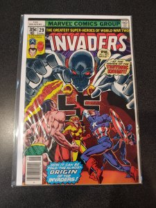 THE INVADERS #29 BRONZE AGE HIGH GRADE VF/NM