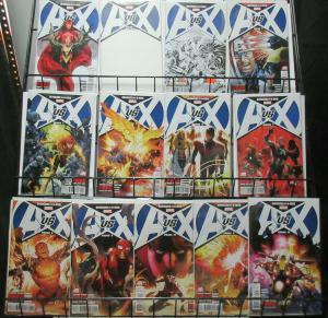 Avengers vs X-Men AvX (Marvel 2012) #0-12 Clash of the Super Heroes! Bendis!!