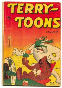 Terry-Toons #6 1953- MIGHTY MOUSE- Ice cream cover G