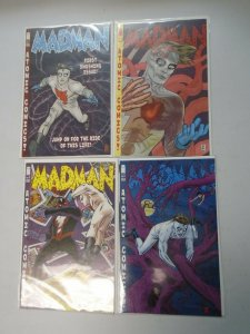 Madman Atomic Comics run #1-4 8.0 VF (2007 Image)