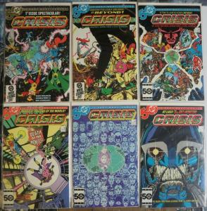 CRISIS ON INFINITE EARTHS 1-12  COMPLETE 1985 CLASSIC