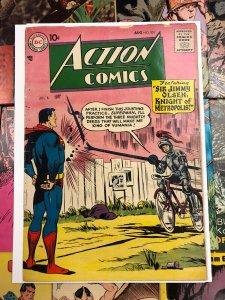 Action Comics #231 VG 4.0 jimmy olsen KNIGHT OF METROPOLIS 10c GOLDEN AGE 1957