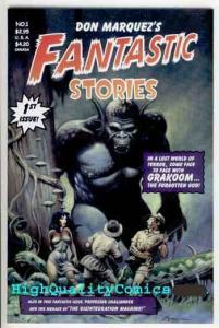 FANTASTIC STORIES #1, NM+, Don Marquez, 2001,Monster, Fraz, more in store