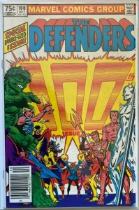The defenders #100 NS 8.5 VF+ (1981)