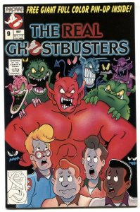 The Real Ghostbusters #9 1988- Now Comics VF