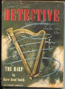 Detective Story 1/1947-hardboiled crime & mystery-Marie Read Smith-VG