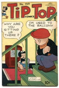 Tip Top Comics #159 1949- TV set cover VG