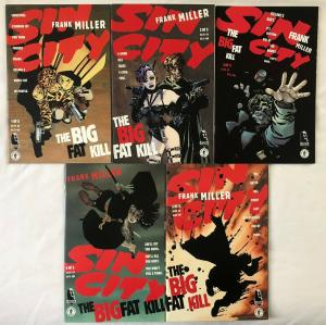 SIN CITY: BIG FAT KILL - COMPLETE Five Issue Lot - #1, 2, 3, 4, & 5- Miller