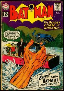 Batman Comics #146 1962- Bat-Mite- DC Comics- Silver Age G