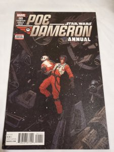 Star Wars Poe Dameron Annual 1 Near Mint Cover by Dan Mora
