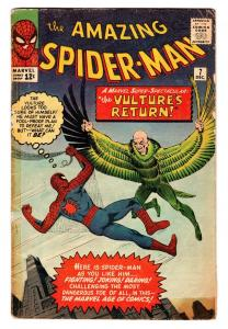 Amazing Spider-Man #7 VULTURE 1963 Marvel Silver Age comic book