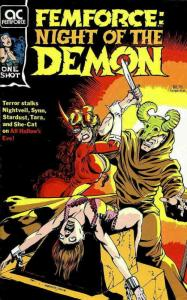 Femforce: Night of the Demon #1 FN; AC | save on shipping - details inside