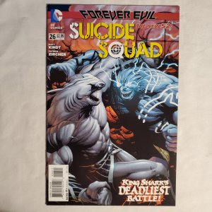 Suicide Squad #26 Very Fine+ Cover by Gary Frank