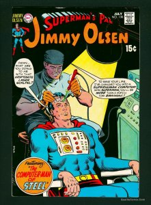 Superman's Pal, Jimmy Olsen #130 FN/VF 7.0 White Pages