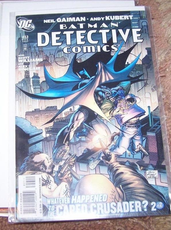 Detective Comics #853 2009,BATMAN- DC Whatever happened to the caped crusadre ?