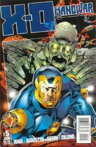 X-O Manowar (1996 series) #5, NM (Stock photo)