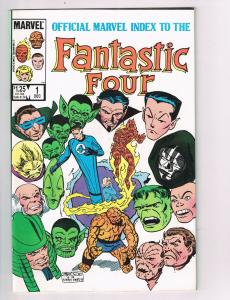 Official Marvel Index to the Fantastic Four #1 Comic Book Thing John Byrne HH2