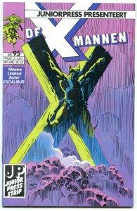 X-men de X-Mannen #95 1990-Dutch Comic Book- wolverine VF