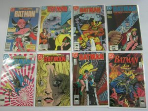Batman comic lot 45 different from #401-498 6.0 FN (1986-93)