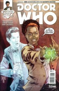 Doctor Who: The Eleventh Doctor #10 VF/NM; Titan | save on shipping - details in