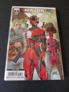MAJOR X #6 NM 2ND PRINTING HARD TO FIND