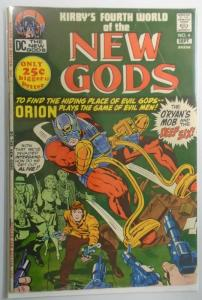 New Gods (1st Series) #4, Jack Kirby 2.0 (1971)