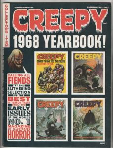 Creepy 1968 Yearbook #1 (Sep-67) VF/NM High-Grade