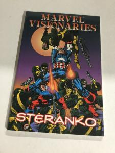 Marvel Visionaries Steranko Nm Near Mint Marvel Comics SC TPB
