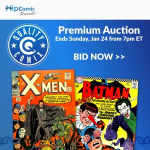 Quality Comix Premium Auction Event #6