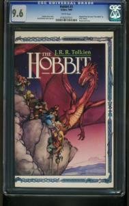 THE HOBBIT #3 1990 ECLIPSE-CGC 9.6 - J.R.R. TOLKIEN - 0192327012