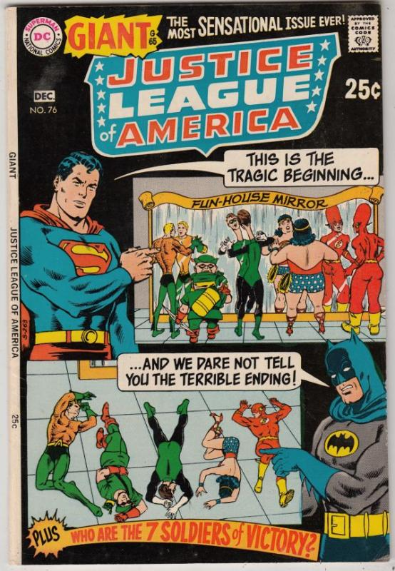 Justice League of America #76 (Dec-69) NM- High-Grade Justice League of America