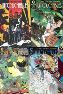 UNTOUCHABLES (1997 CALIBUR) 1A,2-4  KALUTA covers! COMICS BOOK
