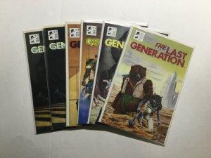 The Last Generation 1-5 1 2 3 4 5 Lot Run Set Near Mint Nm Black Tie Comics