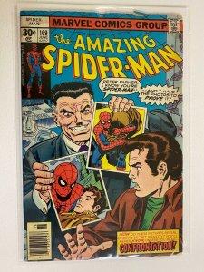The Amazing Spider-Man #169 4.0 VG H20 Damage (1977)