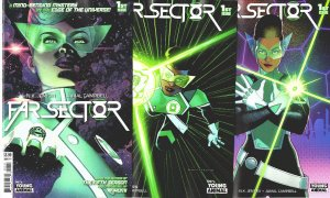Far Sector 1  N.K. Jemisin A/C- 3 J. Campbell, Variants Martinbrough, McKelvie