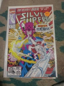 Silver Surfer # 70 1993 Marvel THE HERALD ORDEAL PT 1 NOVA GALACTUS 1ST MORG