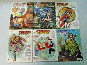 Draw! Magazine Lot From #6-23 14 Different