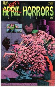 APRIL HORRORS #1, VF+, Mike Hoffman, Kelley Jones, 1992, more indies in store