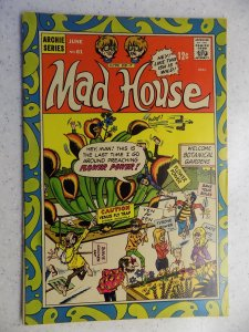 ARCHIE'S MAD HOUSE # 61 ARCHIE JUGHEAD VERONICA BETTY RIVERDALE