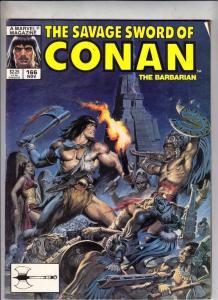 Savage Sword of Conan #166 (Sep-89) VF/NM High-Grade Conan