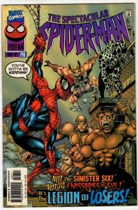 SPECTACULAR SPIDER-MAN #246 (VF+) 1¢ Auction! No Resv! See More!!!