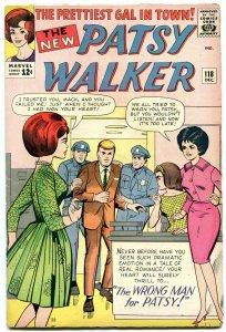 PATSY WALKER #118 1964- paper dolls- fashions- Marvel silver age FN-