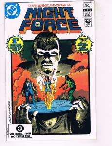 Night Force # 1 NM 1st Print DC Comic Book Batman Superman Flash Arrow Atom HJ2