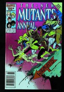 New Mutants (1983 series) Annual #2, VF+ (Actual scan)