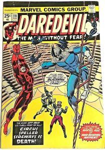 DAREDEVIL#118 FN 1975 MARVEL BRONZE AGE COMICS