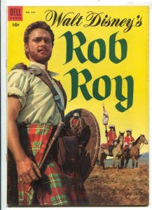 Rob Roy-Four Color Comics #544 1954-Dell-based on Disney film-Richard Todd-ph...