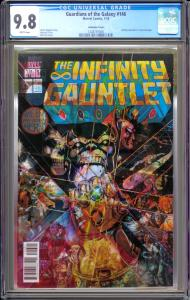 Guardians of the Galaxy #146 CGC Graded 9.8 (Lenticular Cover)